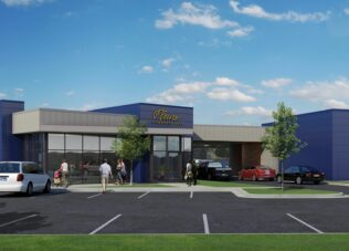 Sioux Falls east 57th  Branch Exterior Rendering